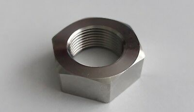 3/4 Stainless 20tpi Full Nuts, CEI, cycle, bscy, bsc
