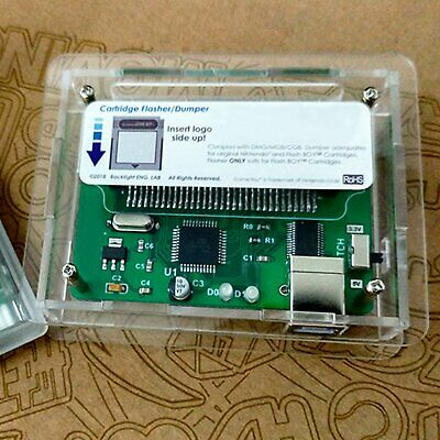 Flash Boy-Gameboy DMG and Color GBC Cartridge Dumper Flasher memory equipped ROM