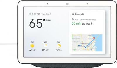 Google - Home Hub with Assistant - Charcoal