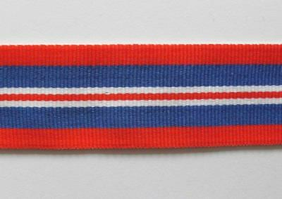 """Wwii. 1939 - 1945 British War Medal Full Size Replacement Ribbon ( 6"""" Long )."""