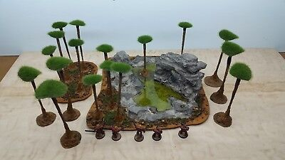 Gelände Tabletop Set #72 f. Warhammer 40K Age of Sigmar SciFi AoS 28mm
