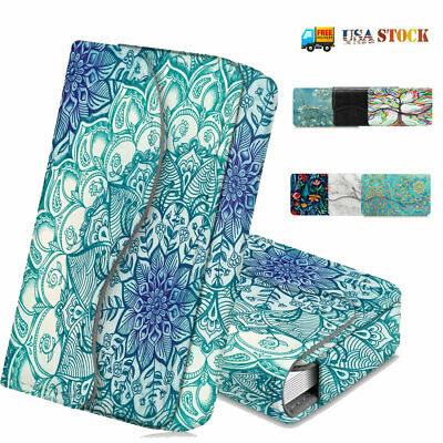 Business Card Holder Credit Card Wallet Leather Case Organizer Magnetic Closure
