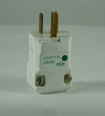 REPLACEMENT RECEPTACLE PLUG HUBBELL 15A 120V Male ELECT CONNECTOR Hospital Grade