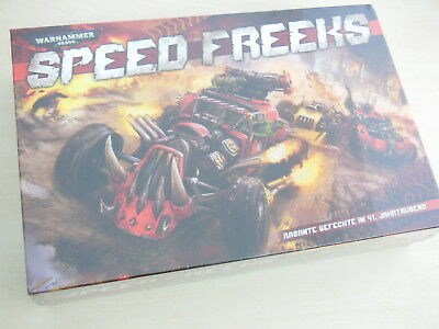 Warhammer 40k Speed Freeks *Neu* *Deutsch* Orks Ork Karrenz Warbikes