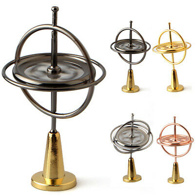 Vintage Retro Metal Gyroscope Teaching Creative Games Nostalgic Fascinate Tools