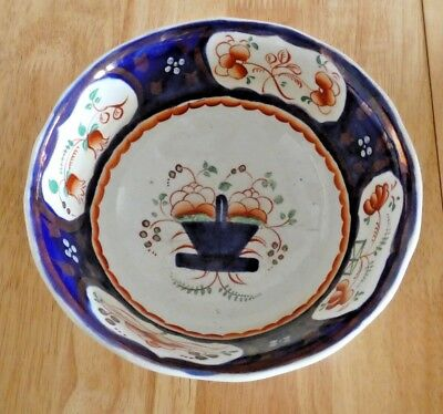 *reduced*  Welsh Gaudy Bowl Colourful And Attractive First Half 20Th Century