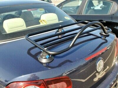 VW EOS Boot Trunk Luggage Rack ; No Clamps = No Damage