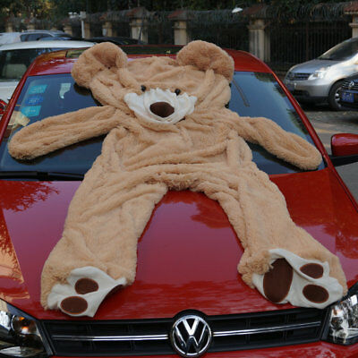"""78"""" 200cm Huge Teddy Bear COVER UNFILLED NO PP COTTON Stuffed Toy(With Zipper)"""