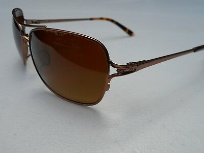c188f8c67ff OAKLEY CONQUEST SUNGLASSES OO4101-03 Gold Frame W  Tungsten Iridium ...