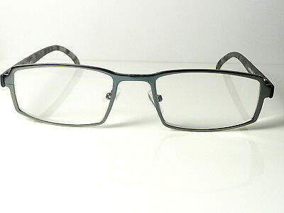 New Mens Gun Metal  FOSTER GRANT  'Barrie'  Reading Glasses