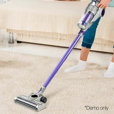 Handstick Vacuum Cleaner Handheld Rechargeable Cordless Stick HEPA Bagless 120W