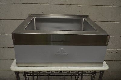 "Advance Tabco 9-OP-20-EC 16"" x 20"" x 6"" Stainless Steel Floor Mounted Mop Sink"