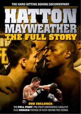 Hatton v Mayweather: The Full Story DVD NUEVO