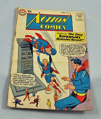 DC Comics - Silver Age  Action Comics #265 Superman Supergirl Hyper-man (1960)