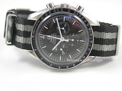 Ultimate Dense Twill Nato® Watch Strap For Omega Speedmaster Moon Watch