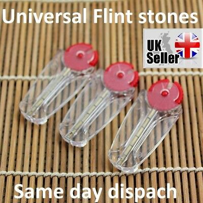 Flint Stones High Quality Gold Color For Clipper Lighters 1-5pack UK