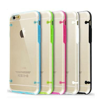 Coque Transparent Ultra Mince En Tpu Douce Flexible 4.7 Pour Iphone 6+Film