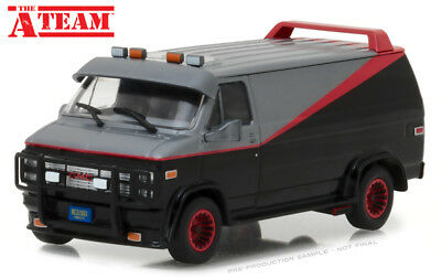 Greenlight Hollywood 1:43 Furgone The A - Team 1983 Gmc Vandura Van  Art 86515