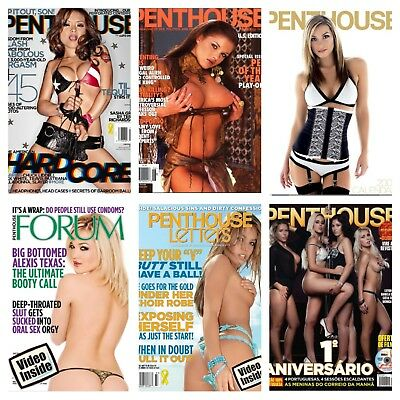 Penthouse Magazine + 2 Videos, Massive Collection, PDF Files