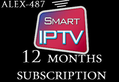 🌍 +5200 Channels &vod Full Hd Iptv Subscription 1 Year For Smart Tv 🔥