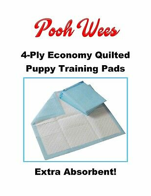 "CHEAP 300-17x24"" Pooh Wee's 4-Ply Quilt Xtra Absorbent Puppy Training Pee Pad"