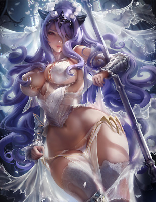 Camilla #12 Photo Print - Fire Emblem Game Art Figure Statue Figurine Anime