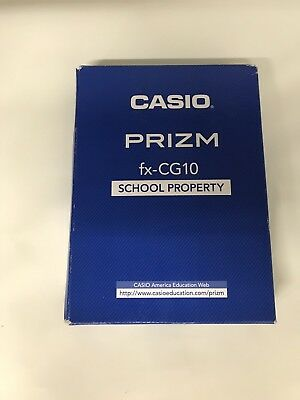 Casio PRIZM fx-CG10 Blue Graphics Calculator