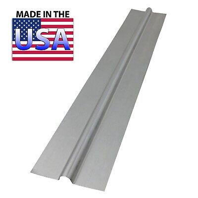"(500) 4 ft Aluminum Heat Transfer Plates for 1/2"" PEX - PEX GUY"