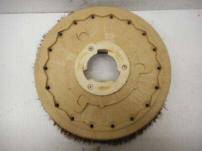 """Malish Spin Off Sweeper Pad Wire Brush 15"""" Wire Bristles"""