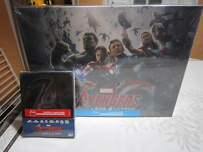 Coffret collector Avengers l'ère d'ultron  , et coffret collector du film .