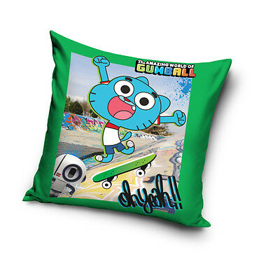 NEW THE AMAZING WORLD of GUMBALL Troublemaker 05 cushion cover 40x40cm