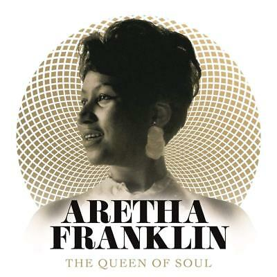 ARETHA FRANKLIN THE QUEEN OF SOUL 2 CD (GREATEST HITS) (Released 23/11/2018)