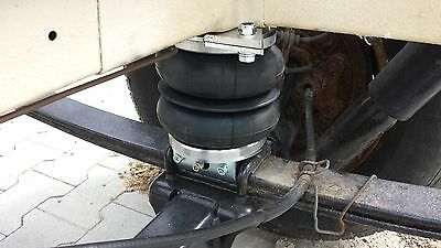 AIR SUSPENSION KIT with 12V Compressor - Fiat DUCATO, Motorhome, Recovery