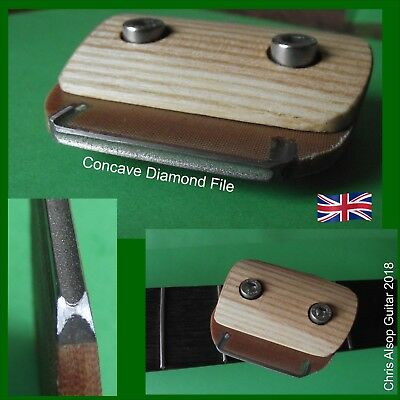Fret Crowning File System. Changeable DIAMOND Files: 2.0mm 2.5mm 3.0mm TF080-88