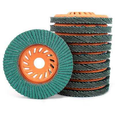 4'' Flap Disc Zirconia Alumina Flap Wheel High Performance For Grinding Metal
