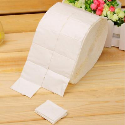 White Cotton Fiber Wipes Acrylic Gel Nail Polish Remover Cleaner Lint Free MA