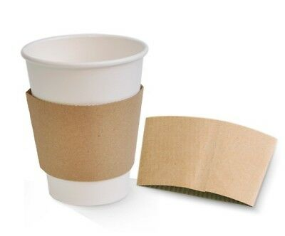 Kraft Paper Coffee Cup Sleeves