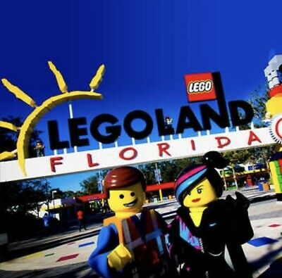 LEGOLAND FLORIDA TICKETS $65 A PROMO DISCOUNT TOOL 1 or 2 DAY + WATERPARK SAVING