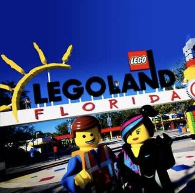 LEGOLAND FLORIDA TICKETS  A PROMO DISCOUNT TOOL 1 or 2 DAY ~ GREAT SAVINGS