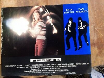 Blues Brothers (1980) Original Lobby Card Movie Poster 11x14 w/ Carrie Fisher