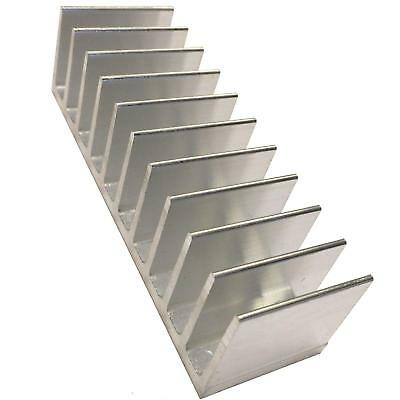 Large Aluminium Heat Sink Transitor MOSFET IC TO3 TO220 TO247 40x124x35mm