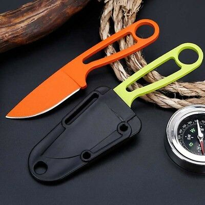 "6"" Small Fruit Knife Fixed Blade Tactical Pocket Survival Knife With Sheath"