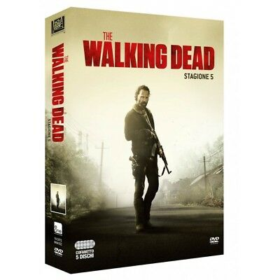 Cofanetto Walking Dead (The) - Stagione 05 (5 Dvd) Serie Tv Dvd Nuovo - -223437