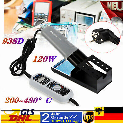 YIHUA 938D Portable Hot Tweezers Mini Soldering Station 220V for BGA SMD