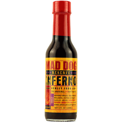 357 Mad Dog Inferno Reserve Ghost Ghost Pepper Edition