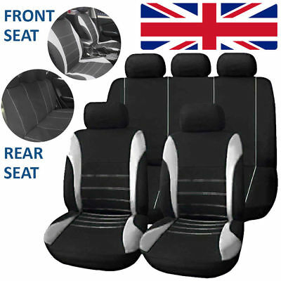 Universal Car Seat Covers Washable Dog Pet Front Rear Full Set Airbag Compatible