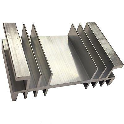 Large Transistor Heat Sink TO3 TO247 TO220 Aluminium 56x90x30mm