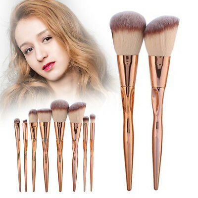 8PCS Makeup Brushes Set Foundation Blush Face Powder Eye Shadow Brush