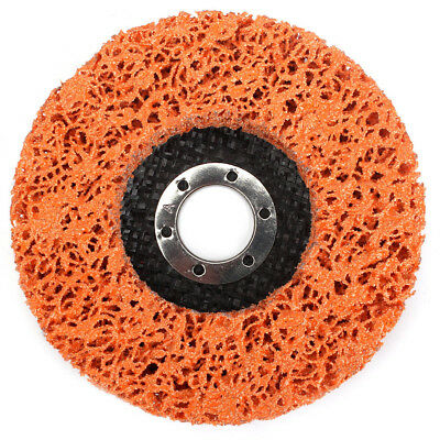"""4.5""""Poly Strip Abrasive Disc Wheel Clean ,Remove Paint,Rust and Oxidation 2Pcs"""
