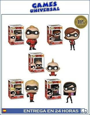 Funko Pop Los Increibles Lote 5 Pop